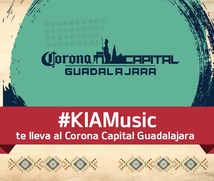 b404b2de62d1 KIA Motors México te lleva al festival Corona Capital GDL 2019